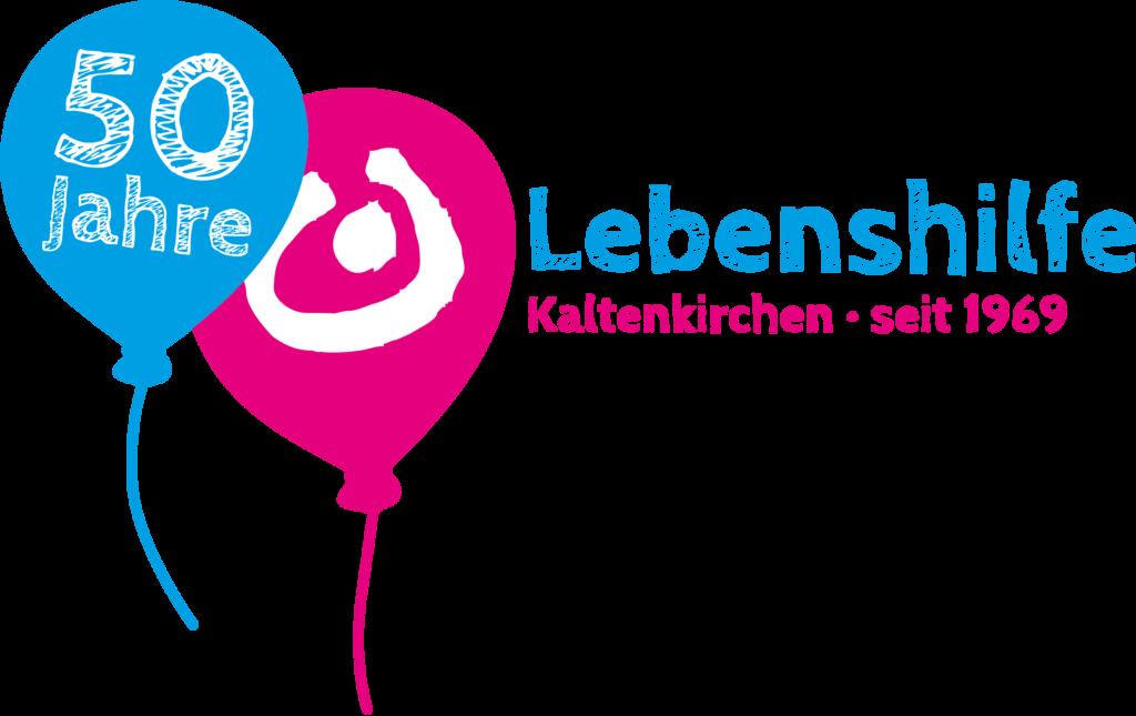 Das 50-Jahre-Logo der Lebenshilfe Kaltenkirchen