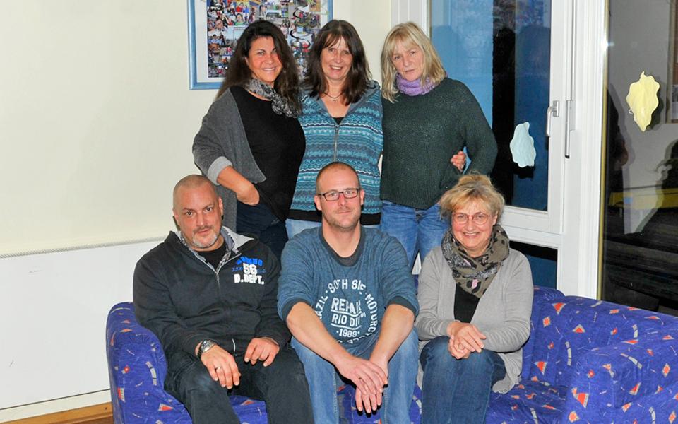 Das Team des Ambulant Betreuten Wohnens der Lebenshilfe Kaltenkirchen, Gruppenfoto
