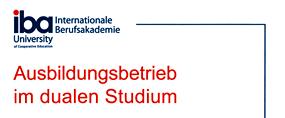 Logo Ausbildungsbetrieb im dualen Studium