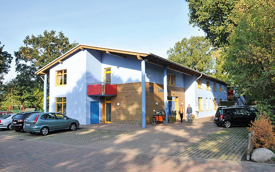 Das Blaue Haus in der Von-Bodelschwingh-Straße 4